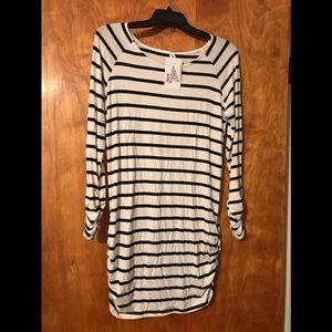 NWT Striped Tunic